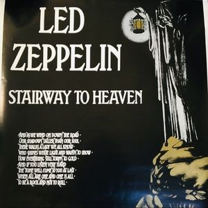 Other - Led Zeppelin Stairway to Heaven Poster